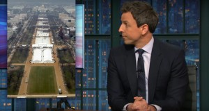 Seth Meyers connects the 'dots' in the investigation into Trump's alleged ties to Russia