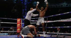 Klitschko loses epic fight to Joshua at Wembley