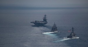 US Navy guided-missile submarines arrive in South Korea