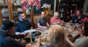 Mark Zuckerberg joins Ohio family for surprise dinner