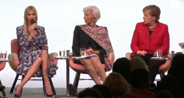 Ivanka Trump in Germany: First Daughter Leaves Some Women Scratching Their Heads