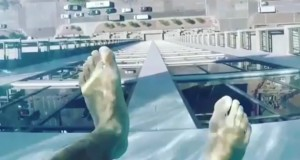 Sky pool in Houston lets you fly and swim at the same time