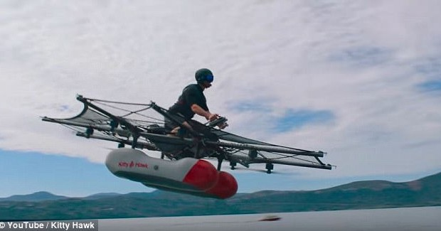 Google Kitty Hawk flying car will be available this year