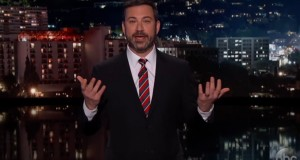 Jimmy Kimmel rips United with fake ad after customer dragged off plane