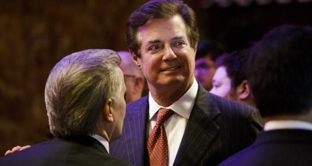 Manafort firm received Ukraine black ledger payout, AP reports