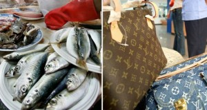 Taiwan grandma carried fish in $1,100 Louis Vuitton handbag