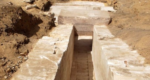 Egypt finds remains of 3,700-year-old pyramid