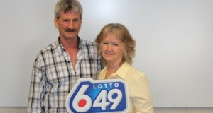 Canadian couple wins lottery for the third time