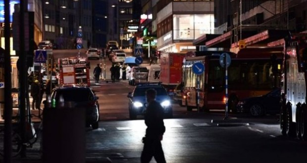 Stockholm attack: Arrested man was lorry driver, police say