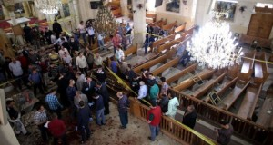 At least 45 people killed in Egypt's Coptic churches deadly blasts on Palm Sunday