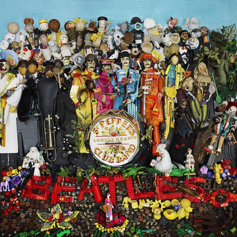 The Beatles' Sgt. Pepper's Lonely Heart's Club Band album cover