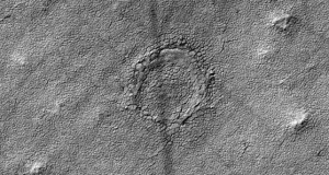 NASA Camera Spots Strange Crater on Mars