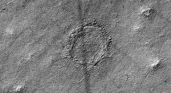 NASA Camera Spots Strange Crater on Mars
