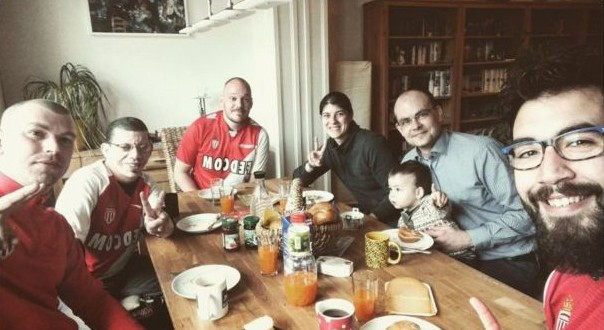 Dortmund football fans open homes to stranded away Monaco supporters