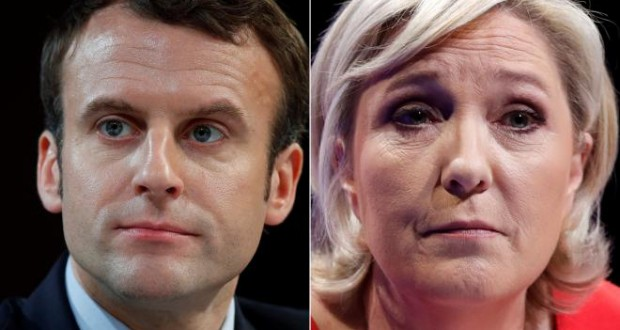 Macron, Le Pen clash in French pre-election TV showdown