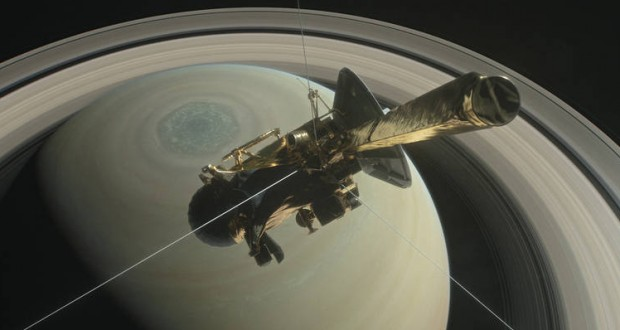 Cassini Grand Finale: Spacecraft Dives Through Saturn's Rings