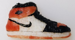 Food and fashion enthusiasts alike will dig these sushi shoes