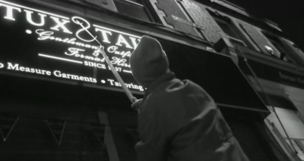 'Grammar vigilante' secretly corrects bad punctuation in the dead of night
