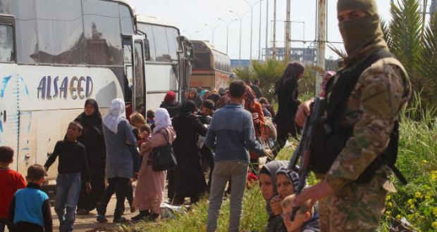 Syria bus convoy bomb attack killed at least 126: Observatory