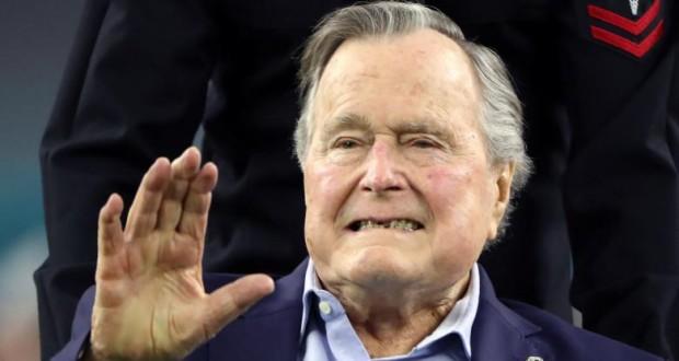Former U.S. President George H.W. Bush hospitalized in Houston