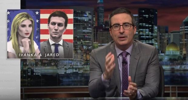 John Oliver rips into Ivanka Trump and Jared Kushner in epic 20-minute rant