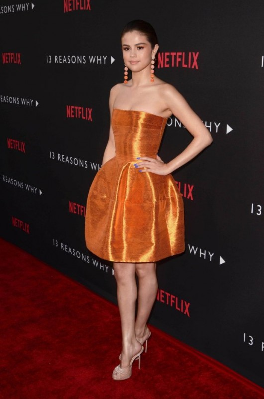 "Red carpet premiere of Netflix's ""13 Reasons Why"""