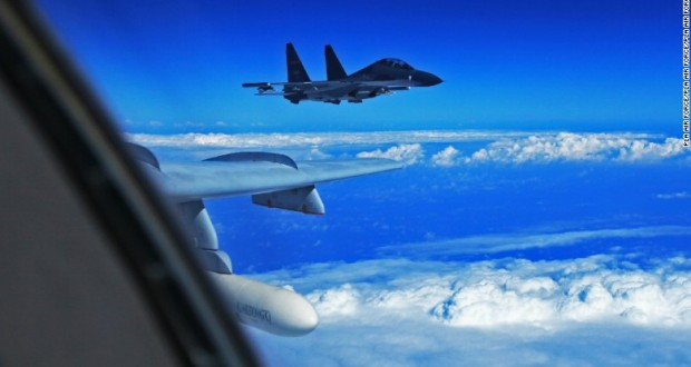 Chinese jets intercept US Air Force radiation detection plane