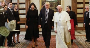 Melania Trump wears veil, but not a headscarf