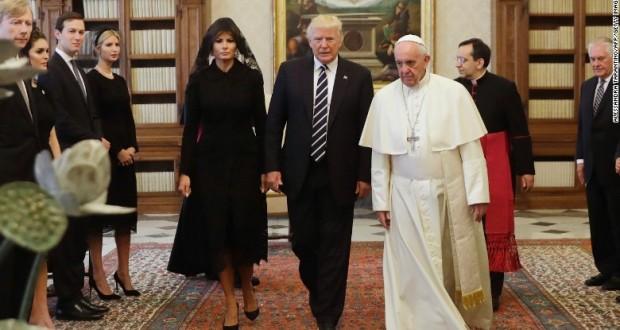 Melania Trump wears veil, but not a headscarf