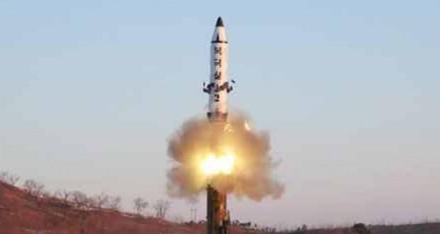 North Korea fires medium-range ballistic missile