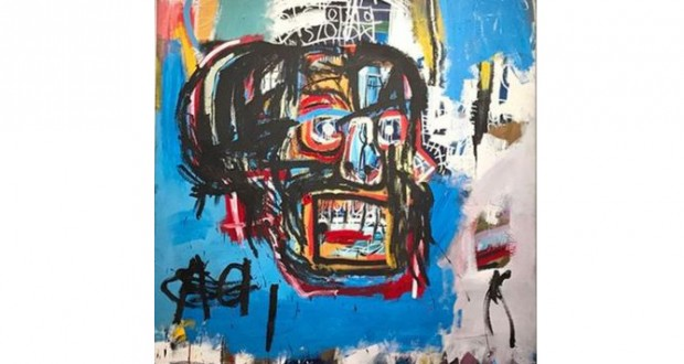 Basquiat painting sold for record $110.5m in New York