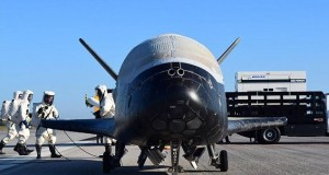 Top secret Air Force X-37B lands after two years in space