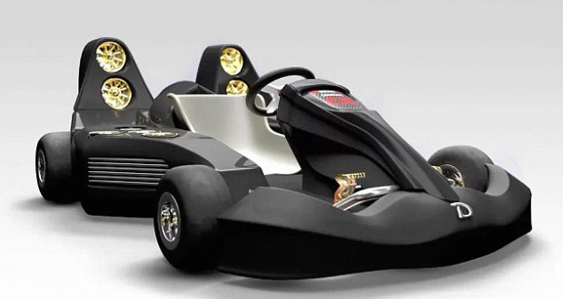 World's fastest fan powered go-kart can go from 0-60mph in just 1.5 seconds