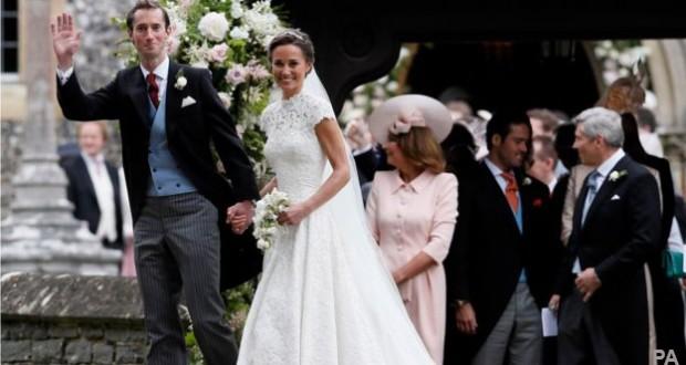 Pippa Middleton weds millionaire financier James Matthews