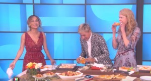 Ellen, Nicole Kidman, and Giada De Laurentiis cook together, but no one has any fun