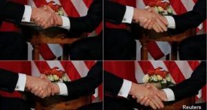 Macron: Awkward Trump handshake a 'moment of truth'