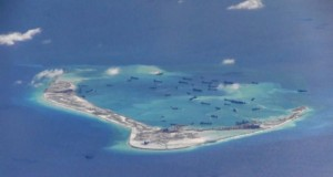 U.S. warship challenges Beijing's claims in South China Sea