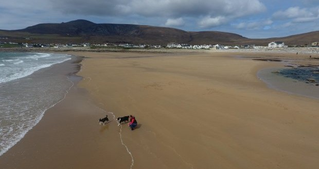 Beach that washed away 33 years ago reappears after freak tide