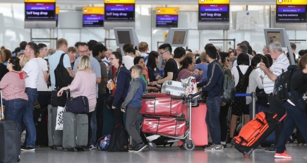British Airways cancel ALL flights due to global system outage
