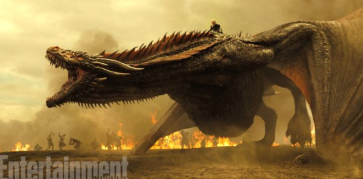 Here's Your First Look At The Dragons In 'Game Of Thrones' Season 7