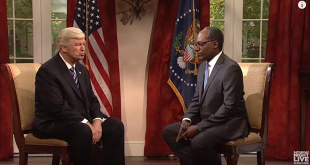 SNL's cold open brought back Alec Baldwin's Trump