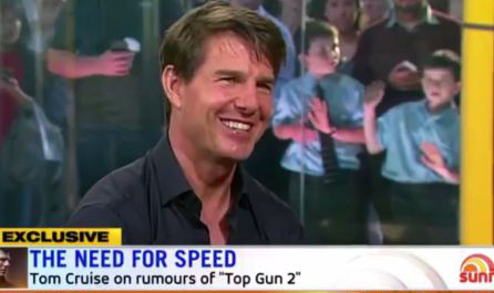 """Tom Cruise Says 'Top Gun 2' Will Be Filming """"In The Next Year"""""""