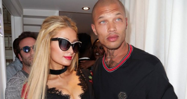 Paris Hilton hangs out in Cannes with 'hot mugshot guy' Jeremy Meeks