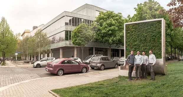 This company fights air pollution with Internet of Things and plants