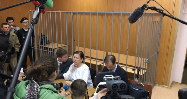 Moscow court passes four-year suspended sentence for Ukrainian library's ex-head