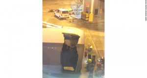 Part of engine on China Eastern Airlines jet tears away after takeoff