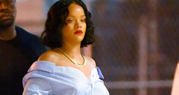 Rihanna claps back at body-shamers with savage meme
