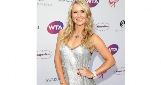 Elina Svitolina Looks Gorgeous in Sequin Dress at pre-Wimbledon Party