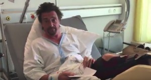 Richard Hammond apologises to his wife after suffering broken leg in The Grand Tour supercar crash