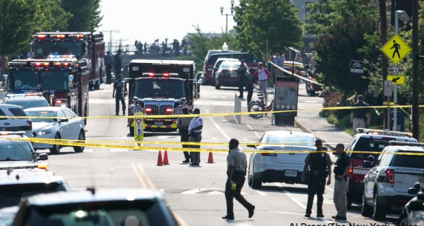 Gunman opens fire on US Senators at baseball field